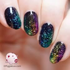 black glitter nail designs choice image nail art designs