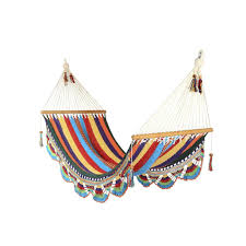 small crocheted trim hammock temple u0026 webster