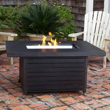 Propane Firepit Sense 61898 Propane Pit Patio Table Extruded Aluminum