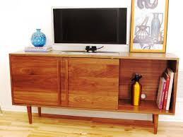 How To Build Wood Tv Stands Mid Century Modern Tv Stand Diy Marissa Kay Home Ideas Best