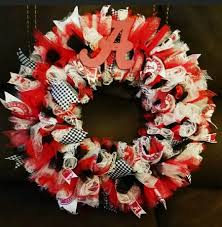 alabama roll tide homemade wreath homemade wreaths roll tide