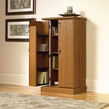 Sauder Homeplus Storage Cabinet Sauder Osullivan Multimedia Storage Tower Cinnamon Cherry Cabinets
