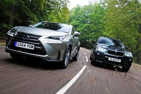 compare lexus vs bmw lexus nx vs bmw x3 auto express