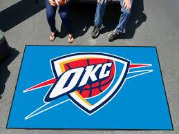 Area Rugs Oklahoma City Nba Door Mats Team Logo Floor Mats Area Rugs