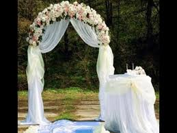 wedding arches on the how to build a wedding arch step by step ideas