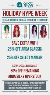 black friday wig sale arda wigs