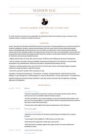 Sample Resume For Marketing Manager by Sales Agent Resume Samples Visualcv Resume Samples Database