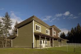 multi family house plans triplex usf u0026 ws kodiak national wildlife refuge staff housing triplex