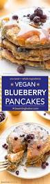 vegan blueberry pancakes beaming baker