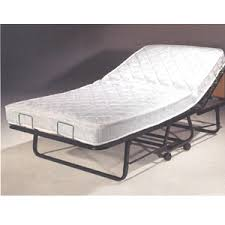 Folding Bed With Mattress Omega Folding Bed With Adjustable Orthopedic Mattress