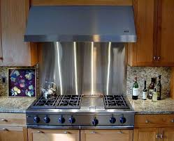 Best Backsplashes Images On Pinterest Backsplash Backsplash - Custom stainless steel backsplash