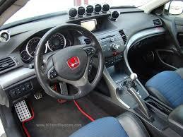 Acura Tsx 2006 Interior Modified Acura Tsx Sedan 2nd Generation Cu2 Interior Dashboard