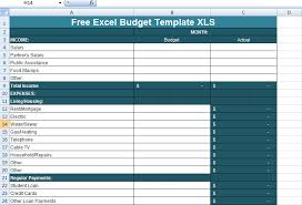 Free Excel Budget Template Free Excel Budget Template Xls Excel Project Management