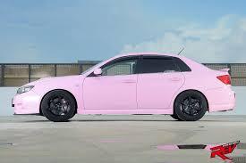 subaru pink get pinked subaru impreza 4dr 2 5 wrx sti