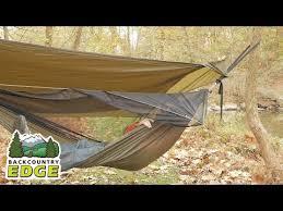 nemo tetrapod hammock shelter system youtube