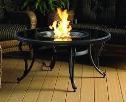 42 u0027 u0027 onyx black glass fire pit table