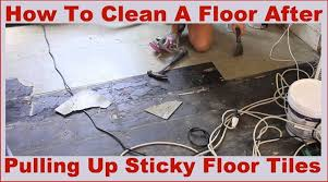 How To Clean Old Hardwood Floors How To Easily Clean A Sticky Floor After Pulling Up Old Cheap Peel