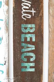 beachy signs make your own rustic lake and bed breakfast signsfunky