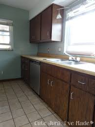 Laminating Kitchen Cabinets Painting Formica Cabinets Before And After Roselawnlutheran