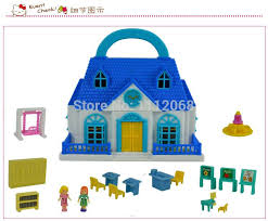 kitty toys tale castle house plastic miniature dollhouse