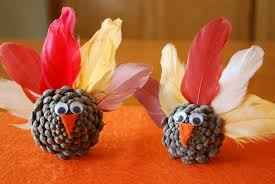pictures of turkeys for thanksgiving pinecone turkeys