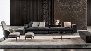 sofa design awesome grey microfiber sectional mah jong sofa