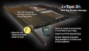 how to store jeep wrangler top jtopsusa jeep wrangler accessories tops boots headliners and more