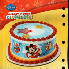 Edible Christmas Cake Decorations Amazon by Mickey Mouse Edible Image Cake Toppers Birthday Wikii