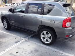 burgundy jeep compass extremely rudely parked jeep compass you park rudely