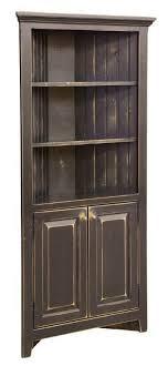 kitchen corner hutch cabinets amish pine wood corner cabinet hutch pine corner and woods