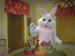 big easter bunny news center free pizza easter bunny mo mo the clown