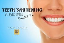 Natural Ways To Whiten Your Teeth Curly Loves Essential Oils Teeth Whitening With Wild Orange