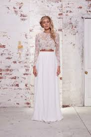 wholesale white vintage lace two piece prom dresses 2016 long