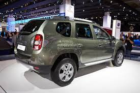 frankfurt 2013 dacia duster facelift live photos autoevolution