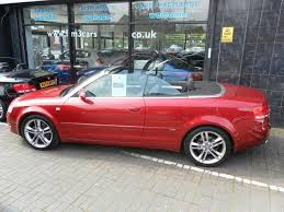 audi a4 convertible s line for sale used audi a4 2 0t 2008 petrol fsi s line convertible manual