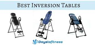 the best inversion table best inversion tables days to fitness