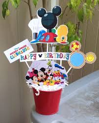 Mickey Mouse Center Pieces Mickey Mouse Clubhouse Centerpiece Minnie Birthday Party