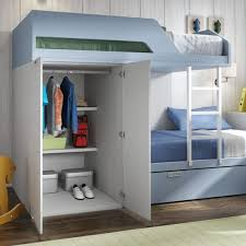 Bunk Beds With Wardrobe Bunk Bed Wardrobe Children Room Pinterest Bunk Bed