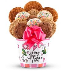 cookie baskets s day cookie bouquet chocolate sweet baskets one