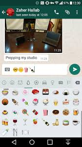 whatsapp for android got a ton emoji