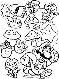 get this super mario coloring pages printable fc533