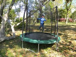 trampoline reviews cheap in ground springless water