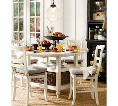 Pottery Barn Dining Room Lighting by Shayne Table U0026 Isabella Chair 5 Piece Dining Set Pottery Barn