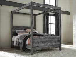 Canopy Bedding Baystorm Gray Canopy Bed From Coleman Furniture