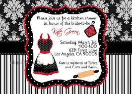 Kitchen Shower Ideas Kitchen Shower Invitation Pampered Chef Party Apron