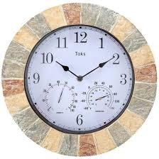 amazon com outdoor clocks patio lawn u0026 garden