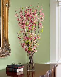 springtime silk flowers refresh your home décor with color and new