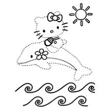 10 free printable dot dot coloring pages