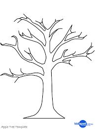 Fall Tree Template printable tree template tree craft cork st apple tree