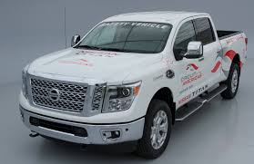 nissan armada 2017 austin tx nissan signs on as cota u0027s official truck formula austin